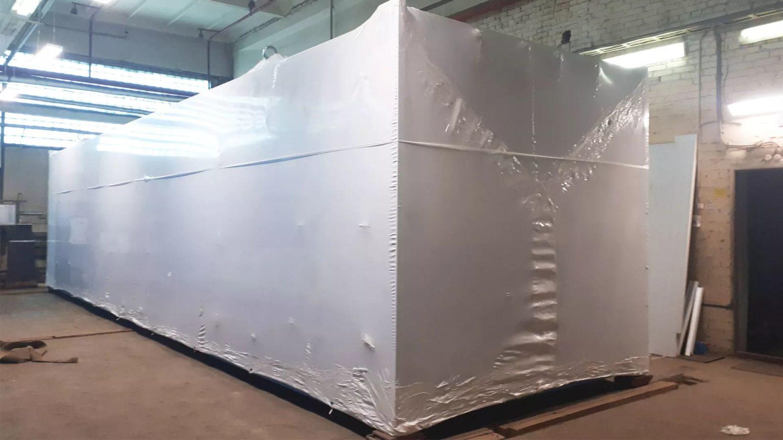 Упаковка блочно-модульной котельной
