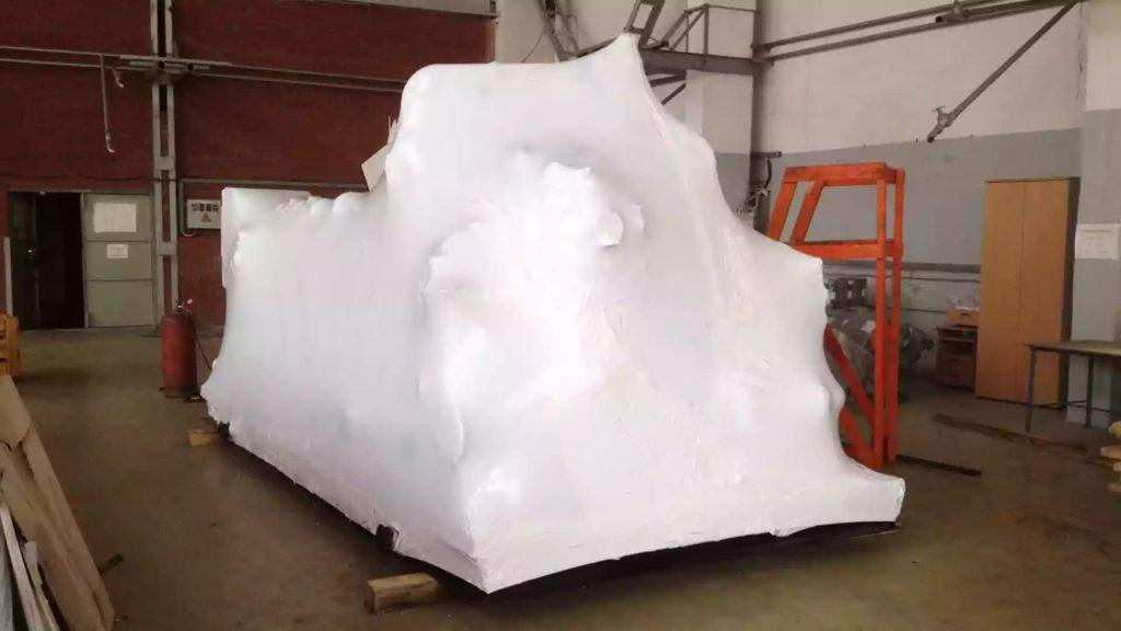 Упаковка в термоусадочную пленку промышленного оборудования