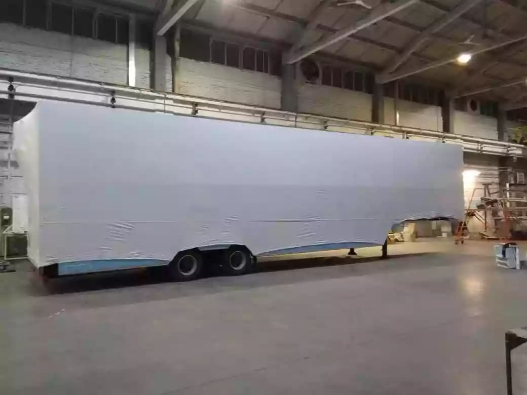 Упаковка транспорта в термоусадочную пленку