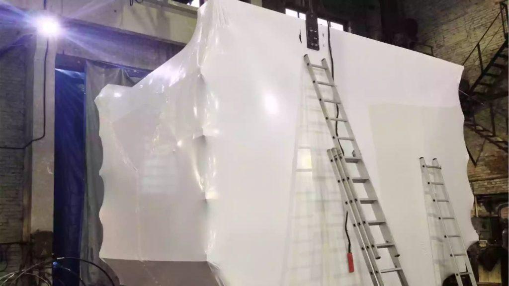 Упаковка станков и оборудования в термоусадочную пленку