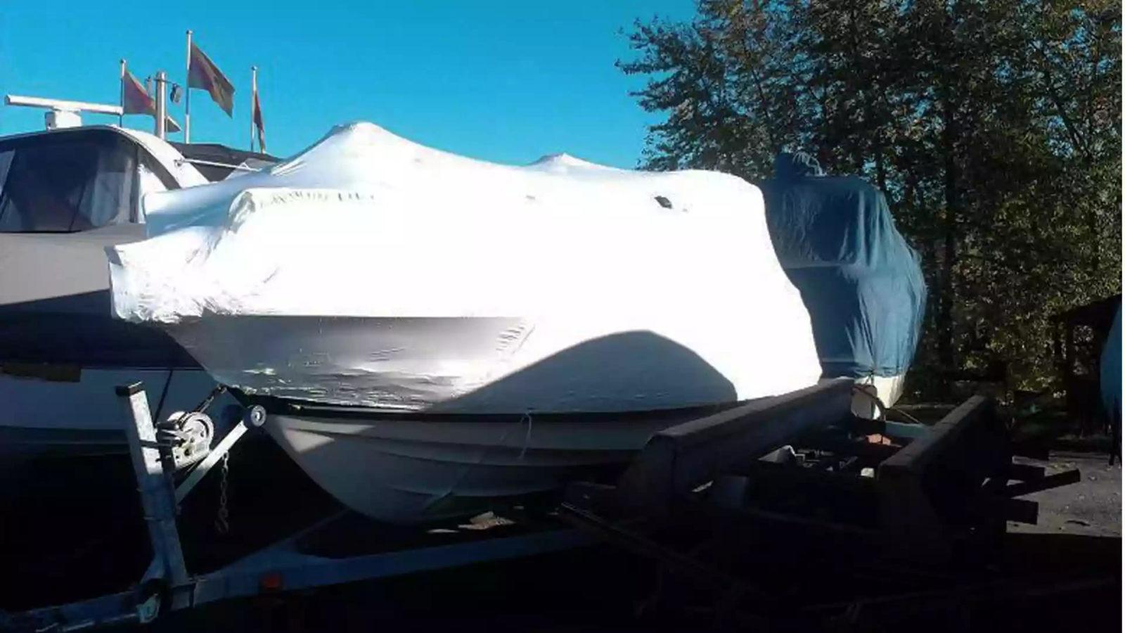 Укрытие яхты