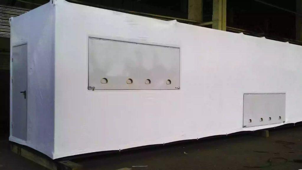 Ремонт порезов в продукции, упакованной в термоусадочную пленку FastPack.
