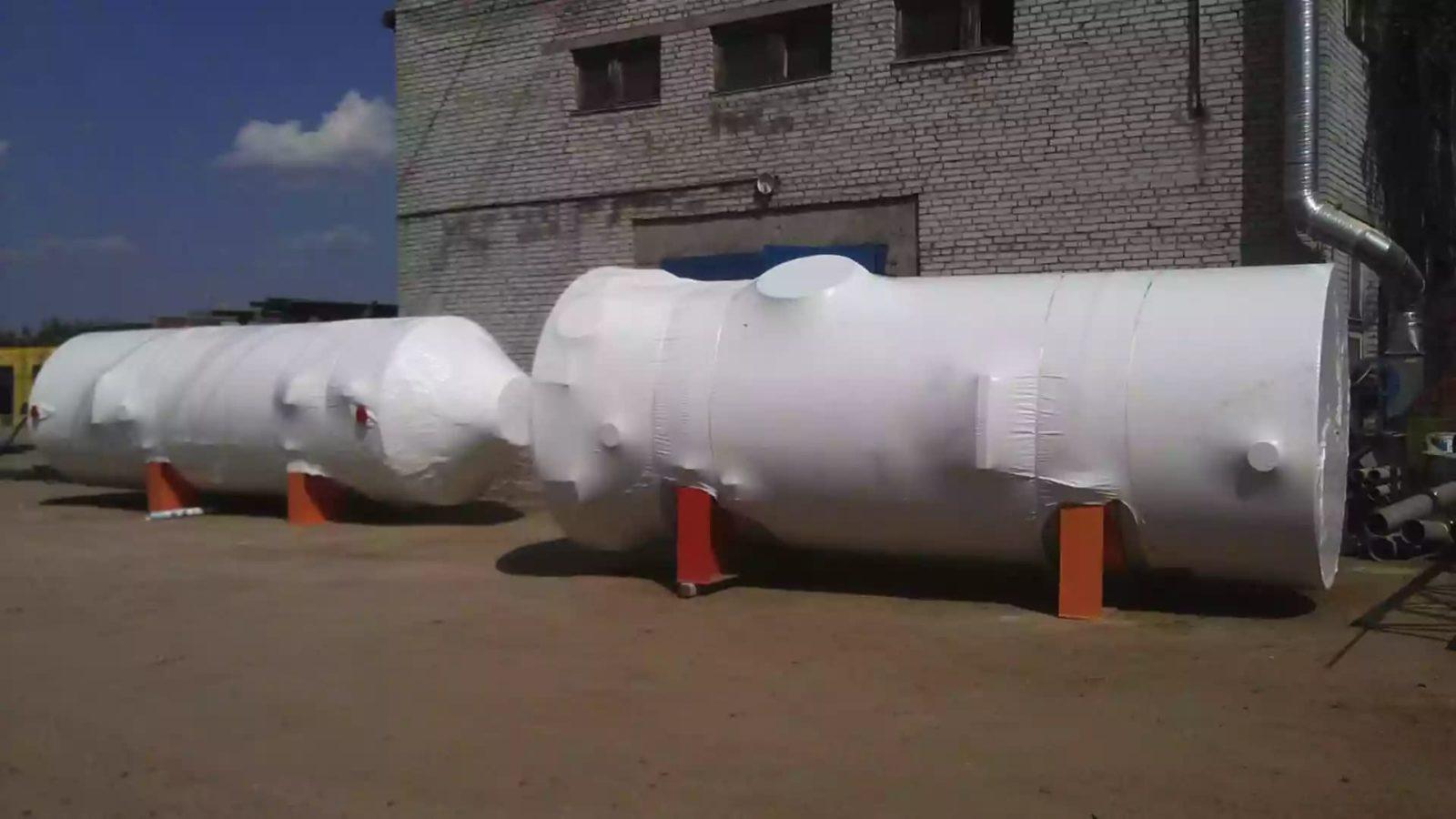 Упаковка крупногабаритного оборудования в термоусадочную пленку