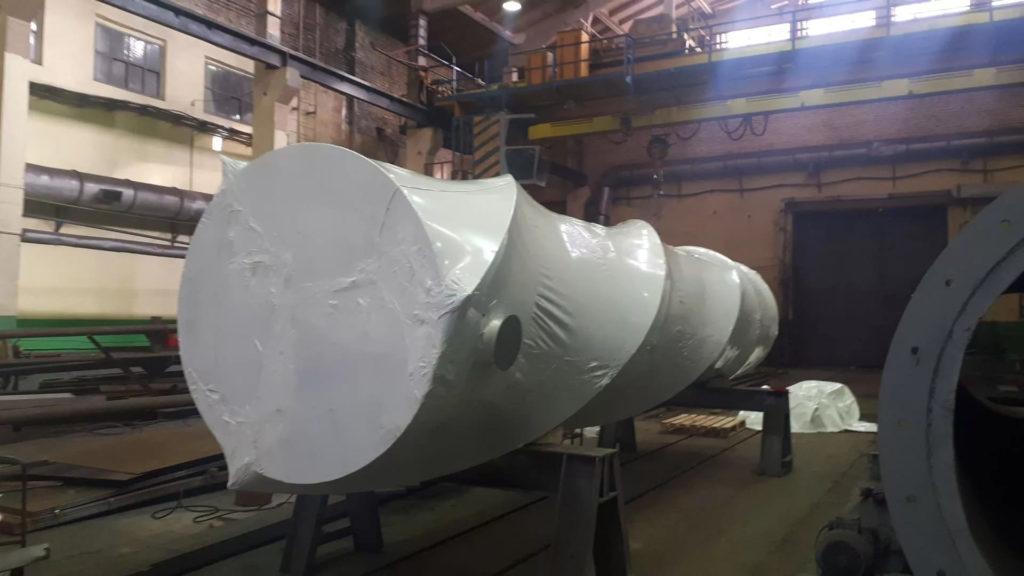 Промышленная упаковка негабаритного оборудования в пленку - услуги упаковки от компании Фастпэк