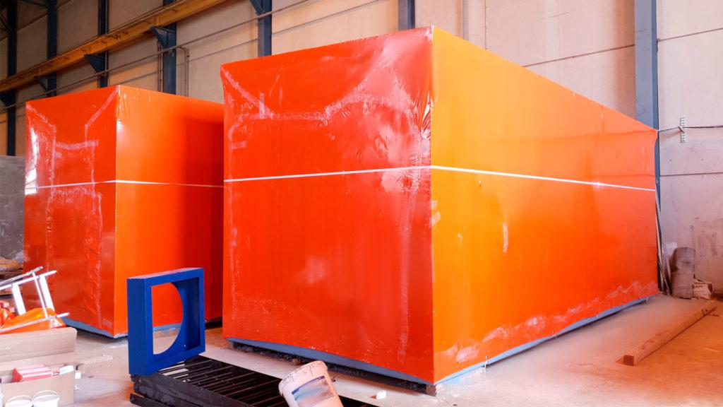 Брендированная пленка для упаковки крупногабаритных грузов - производство Фастпэк