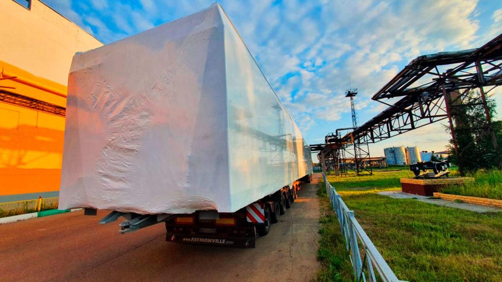 Упаковка груза в Казани началась с задержкой в 1,5 часа.