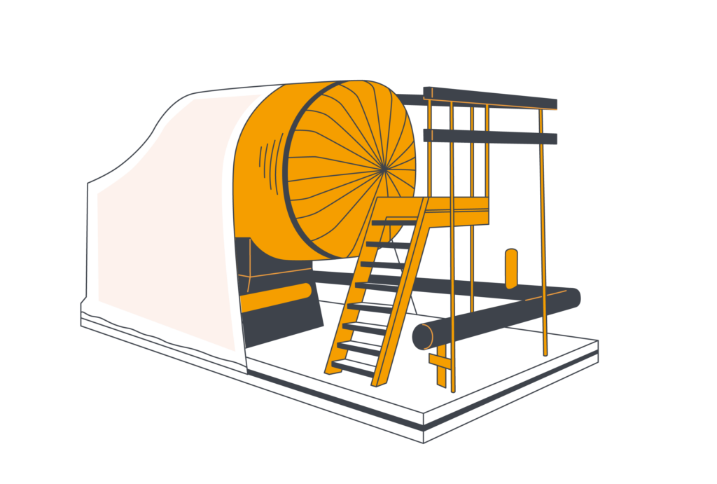 Упаковка металлоконструкций
