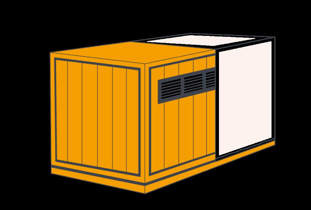 Упаковка блоков и модулей