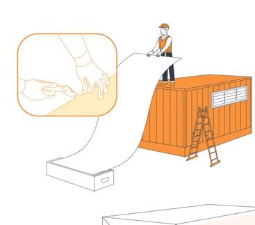 Инструкция по упаковке грузов в термоусадочную пленку вкратце включает 2 этапа: подготовку материала и упаковку груза.