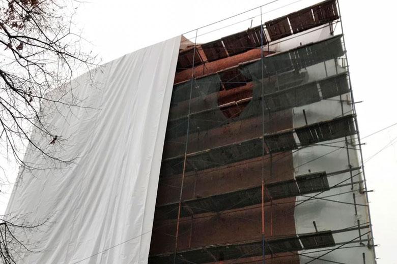 Консервация здания