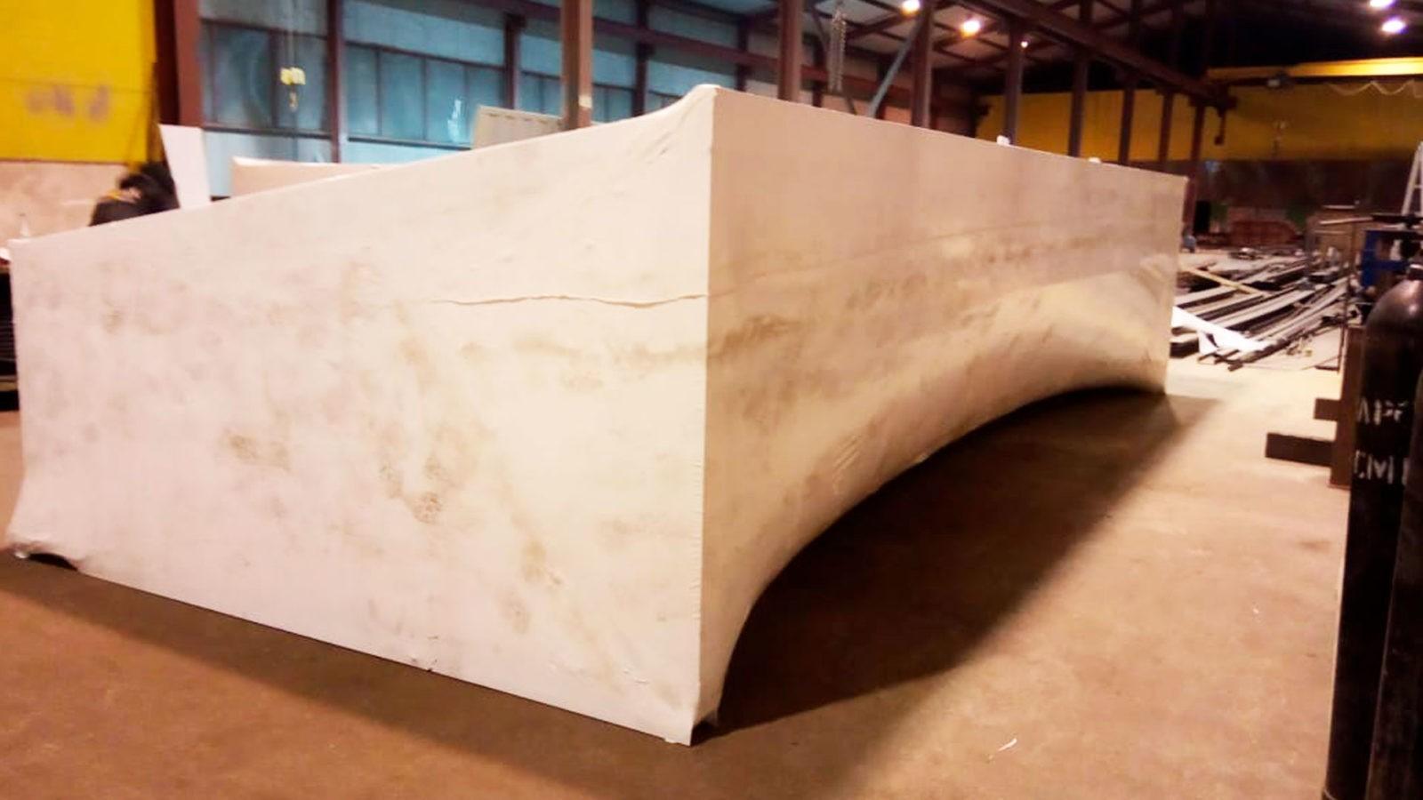 Под упаковкой промышленной продукции мы подразумеваем упаковку больших, крупных объектов