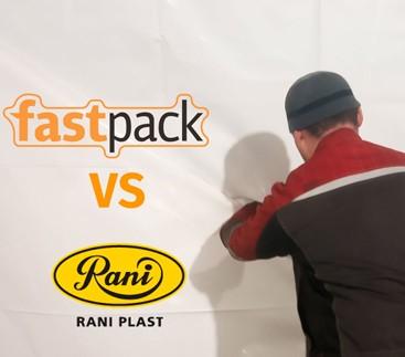 Пленка FastPack российского производства и Raniheavyshrink, произведенная на финском предприятии - сравнение