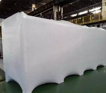 Упаковка промышленного оборудования в термоусадочную пленку целиком