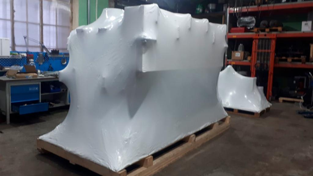 Упаковать станок термоусадочной пленкой