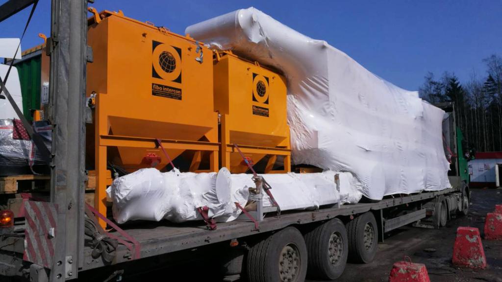 На упаковку груза в Подольске выезжал наш профессионал. Нужно было упаковать 5 крупногабаритных грузов.